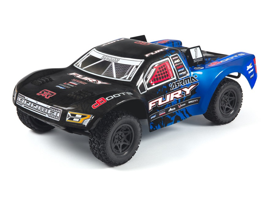 ARRMA RTR Fury Updated With New Radio & Body (1)