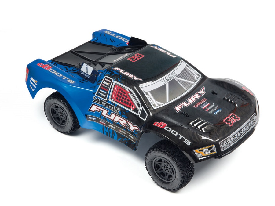 ARRMA RTR Fury Updated With New Radio & Body (2)