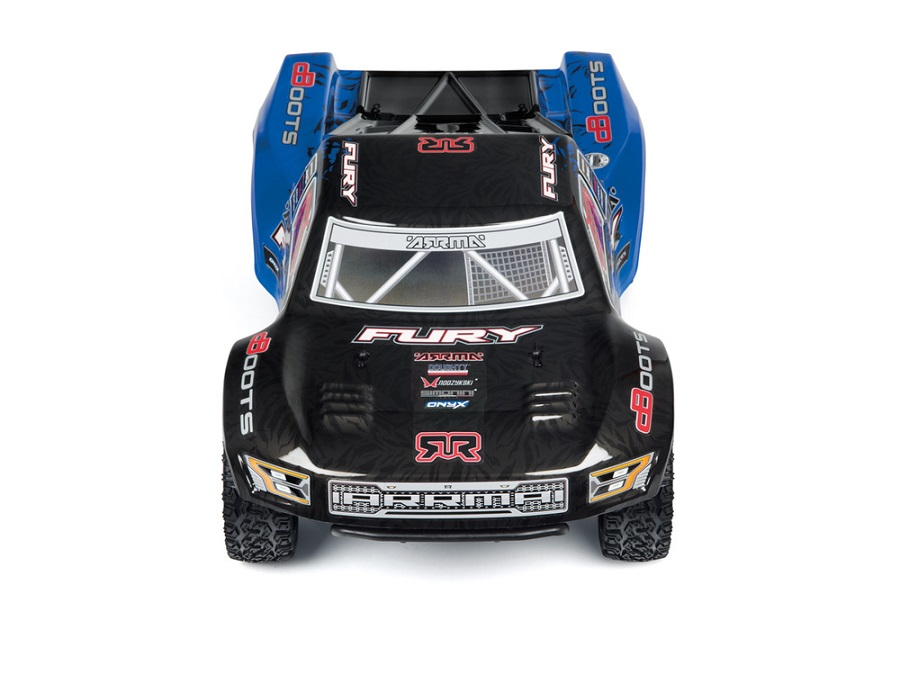 ARRMA RTR Fury Updated With New Radio & Body (4)