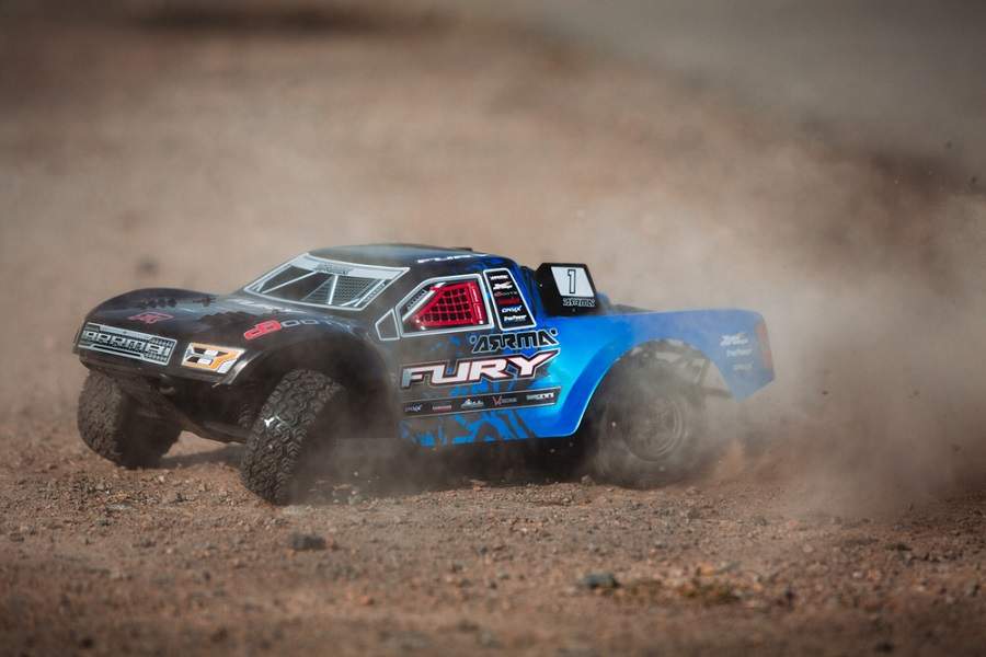 ARRMA RTR Fury Updated With New Radio & Body (5)