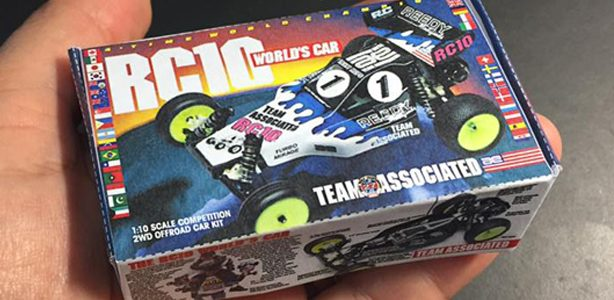 Fun: Print and Fold Your Own Team Associated Kits