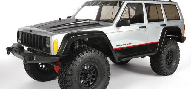 Axial 2000 Jeep Cherokee Clear Body