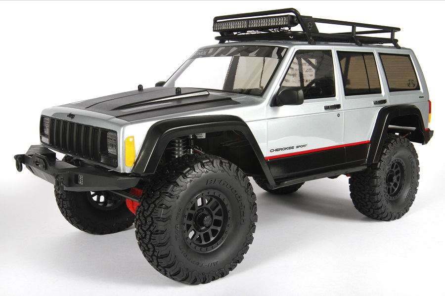 Axial 2000 Jeep Cherokee Clear Body (1)