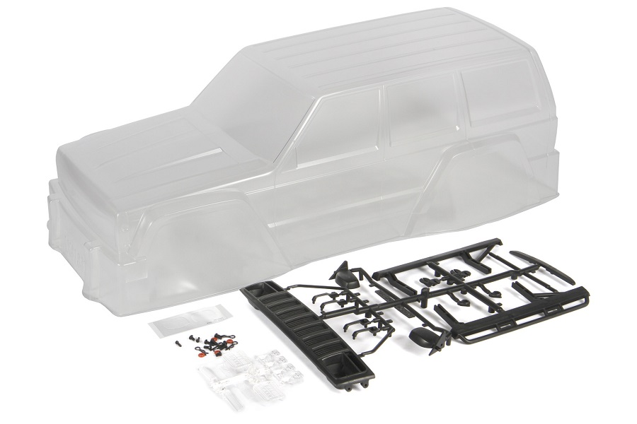 Axial 2000 Jeep Cherokee Clear Body (4)