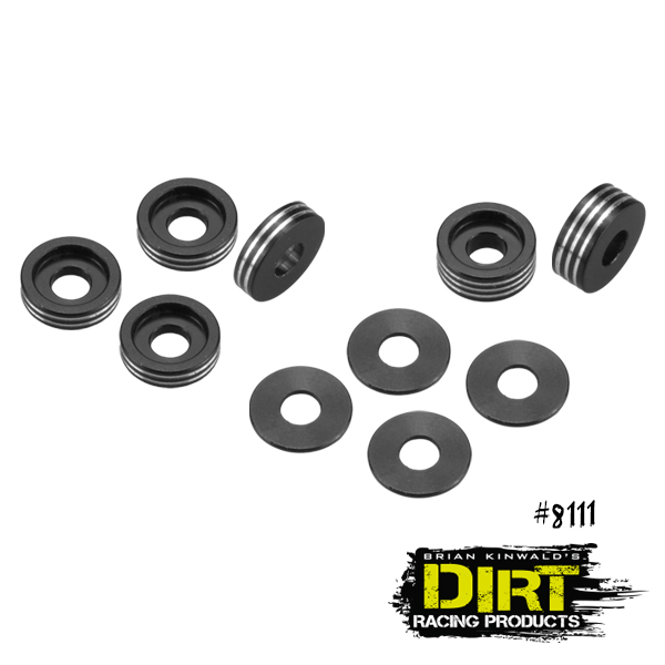 Dirt Racing Products Recessed Ball-Stud Washer Set (2)