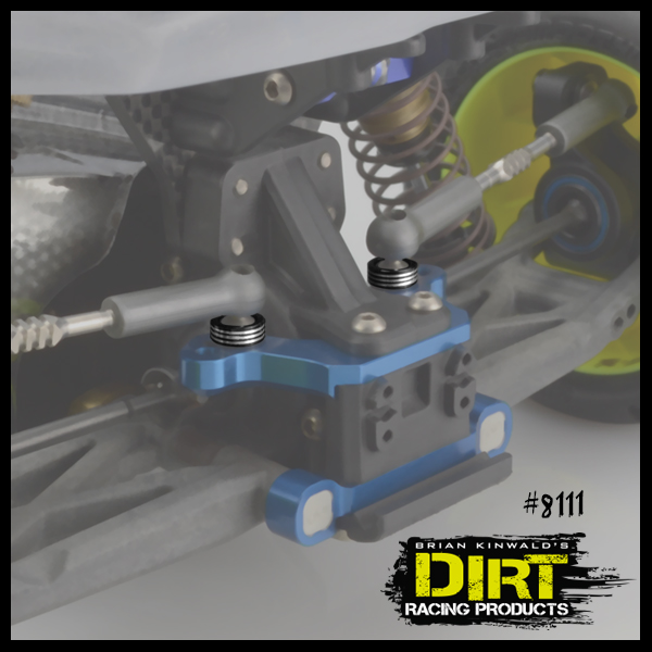 Dirt Racing Products Recessed Ball-Stud Washer Set (3)