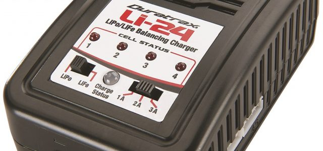 Duratrax Li-24 Balancing Charger Now With T90 Plug