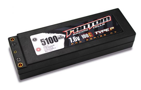 Fantom Outlaw HV Pro Racing Series LiPo Batteries (2)