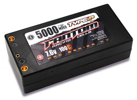 Fantom Outlaw HV Pro Racing Series LiPo Batteries (3)