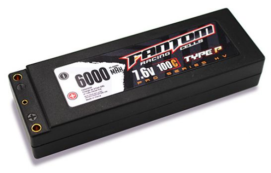 Fantom Outlaw HV Pro Racing Series LiPo Batteries (5)