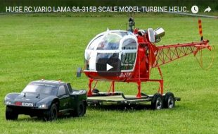 This Truck & Heli Is The Best 1/5 Scale Setup [VIDEO]