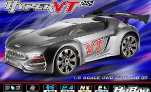 HoBao RTR Hyper VT Series 1/8 GT Car