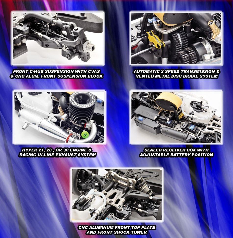 HoBao RTR Hyper VT Series 1_8 GT Car (2)