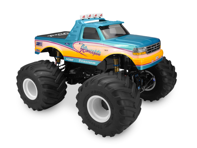 JConcepts 1993 Ford F-250 Monster Truck Body (1)