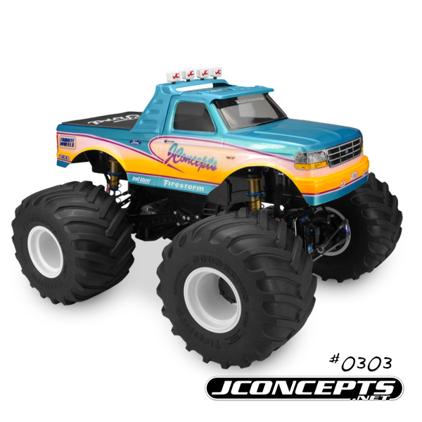 JConcepts 1993 Ford F-250 Monster Truck Body (5)