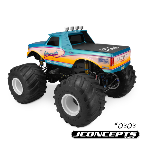 JConcepts 1993 Ford F-250 Monster Truck Body (6)