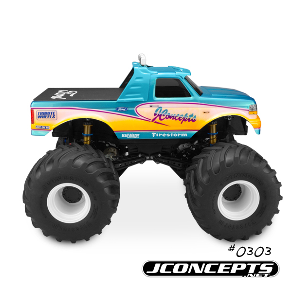 JConcepts 1993 Ford F-250 Monster Truck Body (7)