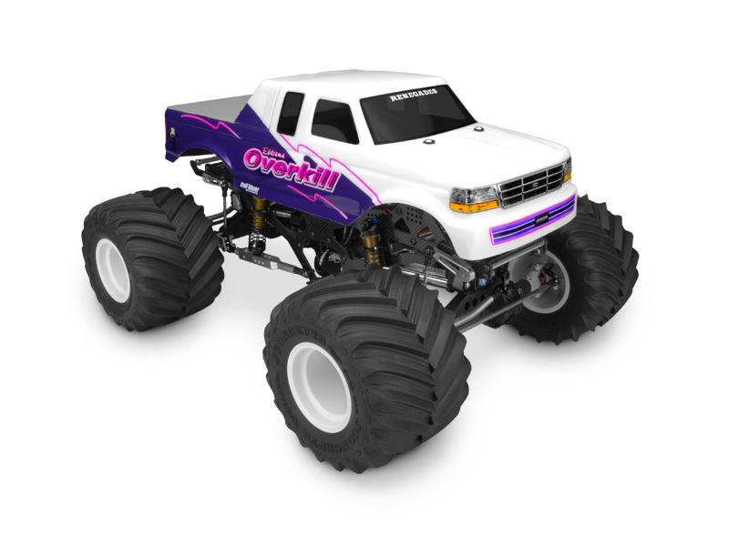 Jconcepts 1993 Ford F 250 Supercab Monster Truck Body Rc Car Action