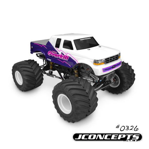 JConcepts 1993 Ford F-250 SuperCab Monster Truck Body (3)