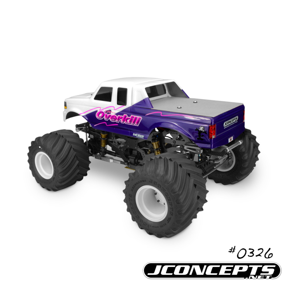JConcepts 1993 Ford F-250 SuperCab Monster Truck Body (4)