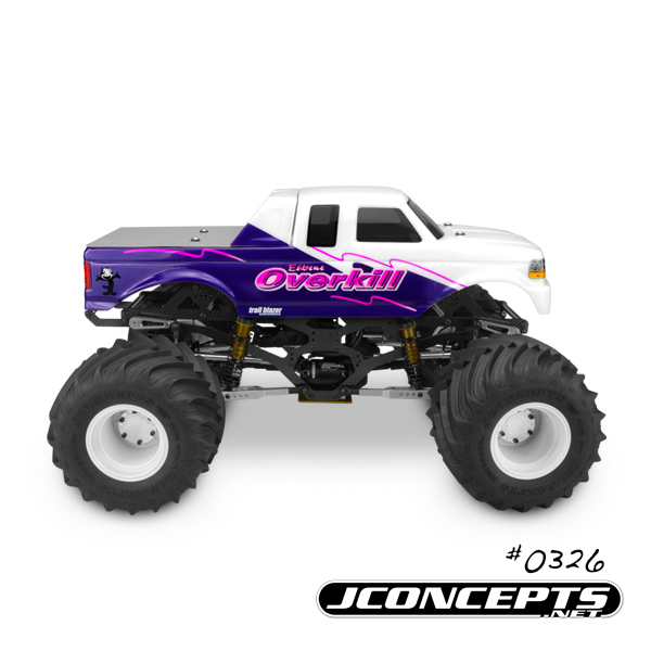 JConcepts 1993 Ford F-250 SuperCab Monster Truck Body (5)