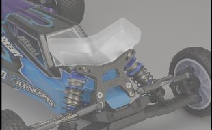 JConcepts Aero Front Wing For The AE B6 And B6D