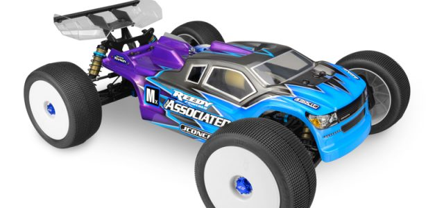 JConcepts Finnisher Clear Body For The AE RC8T3 & RC8T3e