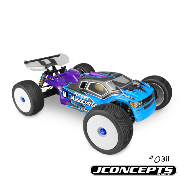 JConcepts Finnisher Clear Body For The AE RC8T3 & RC8T3e (2)
