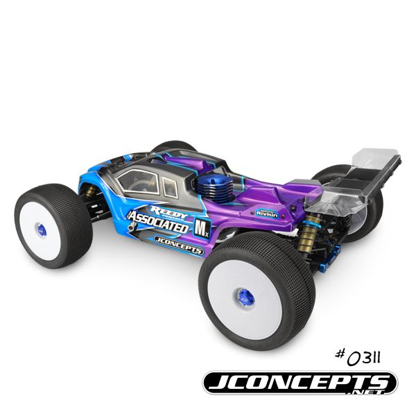 JConcepts Finnisher Clear Body For The AE RC8T3 & RC8T3e (3)