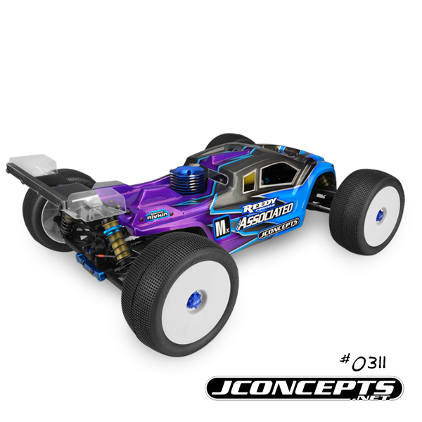 JConcepts Finnisher Clear Body For The AE RC8T3 & RC8T3e (4)