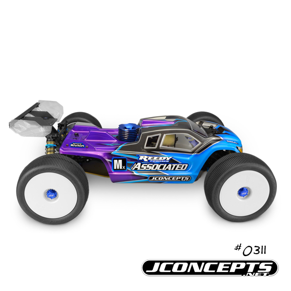 JConcepts Finnisher Clear Body For The AE RC8T3 & RC8T3e (5)