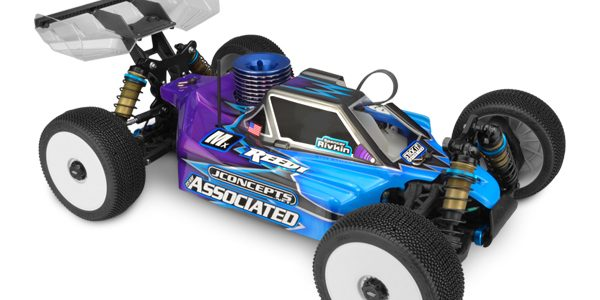 JConcepts Stike 2 Body For The RC8B3 [VIDEO]
