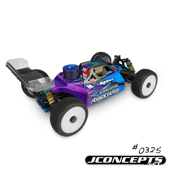 JConcepts Stike 2 Body For The Associated RC8B3 (2)
