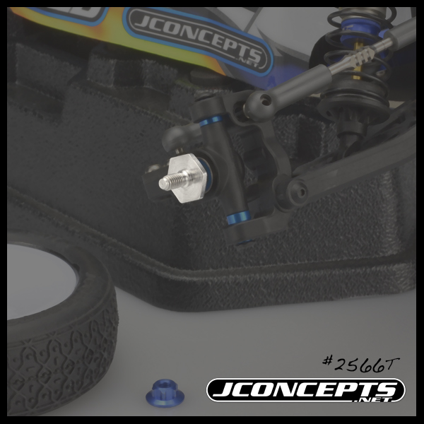 JConcepts Titanium Front Axle Set For The B6 & B6D (2)