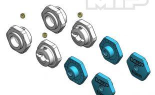 MIP 17mm Hex Adapter +3mm Offset Kit For TLR TEN-SCTE