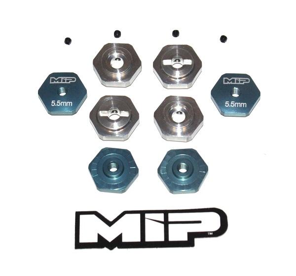 MIP 17mm Hex Adapter Standard Offset Kit For TLR TEN-SCTE (1)
