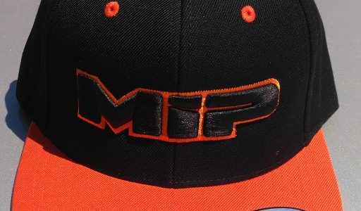 MIP Red And Orange Snap-Back Hats