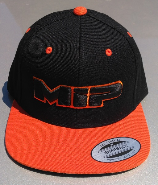 MIP Red And Orange Snap-Back Hats (1)