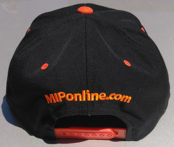 MIP Red And Orange Snap-Back Hats (3)