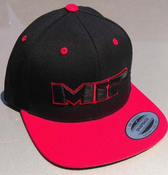 MIP Red And Orange Snap-Back Hats (4)