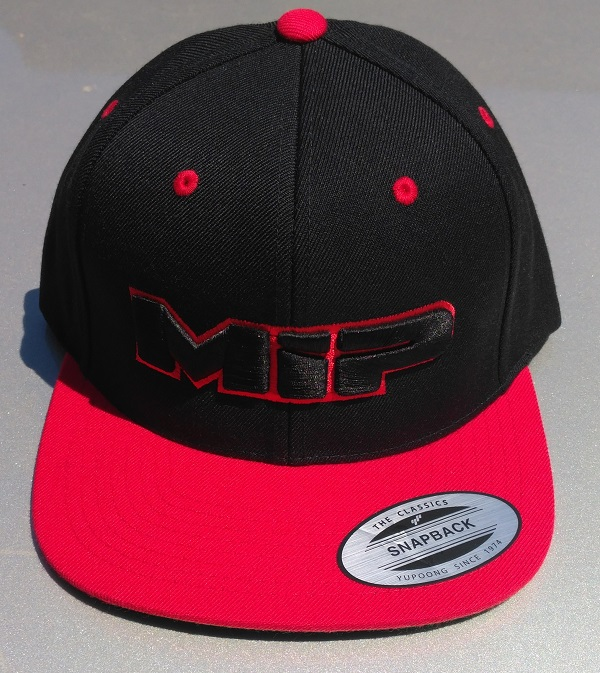 MIP Red And Orange Snap-Back Hats (5)
