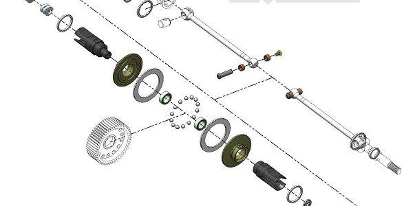 MIP Roller Pucks Bi-Metal Drive System For AE B6 & B5
