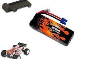 MaxAmps LiPo 1850 2S 7.4v Mini 8ight-T Battery Pack
