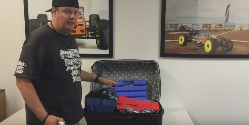 Mugen's Adam Drake On How To Pack For Air Travel