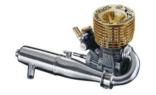 O.S. Engine 21XZ-B Speed Spec II Gold Edition Engine