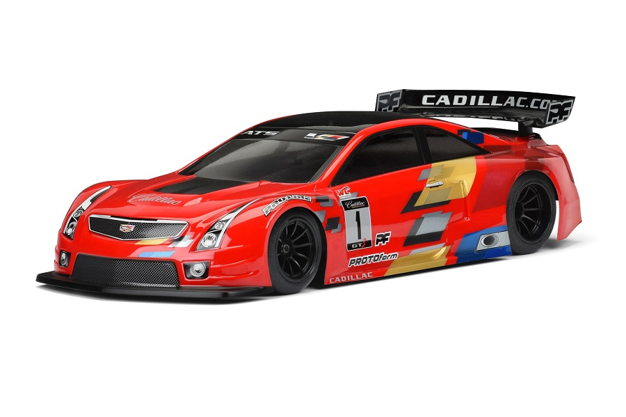 PROTOform Cadillac ATS-V.R 200mm Clear Body (1)
