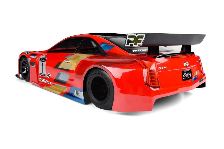 PROTOform Cadillac ATS-V.R 200mm Clear Body (3)