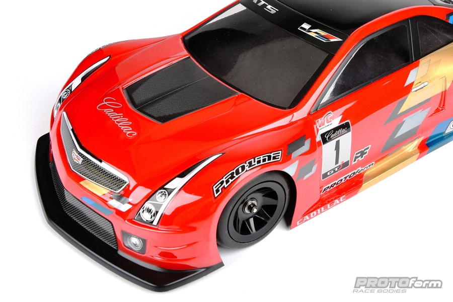 PROTOform Cadillac ATS-V.R 200mm Clear Body (4)