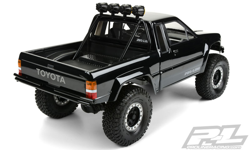 Pro Line 1985 Toyota Hilux Sr5 Clear Body Rc Car Action