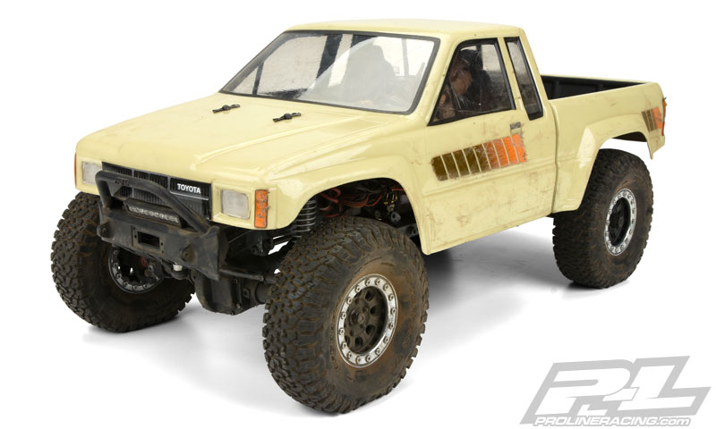 Pro-Line 1985 Toyota HiLux SR5 Clear Body (3)